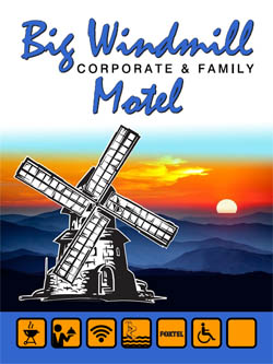 The Big Windmill Corporate & Family Motel - 168 Pacific Highway Coffs Harbour NSW